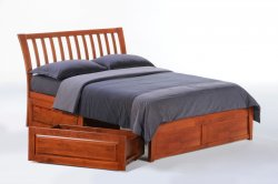 Nutmeg storage bed